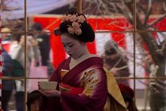 Tea Ceremony 33 (KyotoDreamTrips) Tags: japan kyoto teaceremony   plumblossomfestival  sugawaranomichizane kitanotenmangu