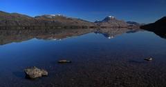 (Gareth Bryant PHOTOGRAPHY) Tags: bw water canon reflections landscape eos scotland highlands loch lochmaree slioch westerross polariser canonef24105mmf4isusm 5d2 5dmkii