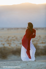 Desert Muse (andy_57) Tags: red sexy legs skirt translucent deathvalley pashmina michèle d800 americanbeauty stovepipewells asianbeauty 2470mmf28g