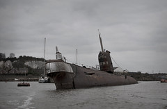 Slightly tilty.. (Me.Two) Tags: uk submarine soviet torpedo 1970 russian submariner sovietsub