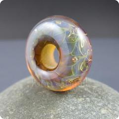 Wisp (TheJanie (Jane Hamill)) Tags: art glass handmade jewelry jewellery donut bead lampwork pendant flamework focal