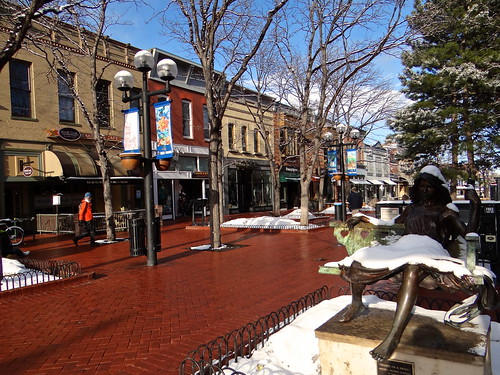 Photo - Post snow Pearl Street looking east