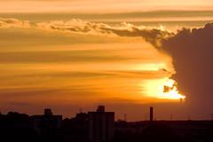 Pr-do-Sol de Nova Odessa (Matheus Pratta) Tags: sunset sky clouds landscape paisagem cu prdosol nuvens