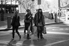 One Love (Explored) (stephen cosh) Tags: life sanfrancisco california street city people blackandwhite bw sepia mono town candid streetphotography rangefinder reallife humancondition blackandwhitephotos 50mmsummilux blackwhitephotos leicam9 stephencosh leicammonochrom leicamm