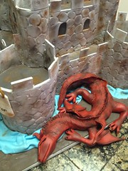 "Medieval castle cake and dragon  4 • <a style=""font-size:0.8em;"" href=""http://www.flickr.com/photos/60584691@N02/8547252220/"" target=""_blank"">View on Flickr</a>"
