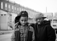 Pine Street (Kirk Smith.) Tags: friends light portrait usa white black boys kids canon coast natural smith gritty east hood delaware hip hop wilmington juvenile kirk 30d