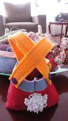 Bunny  shorts (Karen Barcelos) Tags: easter ninho felt pscoa feltro cestinha