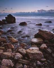After the Storm (Eric C Bryan) Tags: ocean sunset storm film beach water clouds movement rocks waves fuji ngc slidefilm 4x5 southerncalifornia largeformat provia100f abalonecove toyo45a leefilters ericbryan ericbryanphotography wwwericbryannet ericcbryan ericbryannet