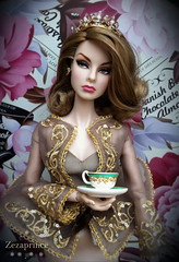 Princess Tea Time ... ( Zezaprince ) Tags: sexy fashion club doll w von event online agnes truly weiss exclusive royalty madly deeply zezaprince