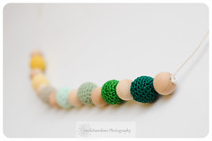 Smile Sunshine Designs Crochet Bead Nursing Necklace (smilesunshinedesigns) Tags: new wood baby mom toy wooden necklace natural ring cotton gift babywearing birch organic teething nursing silicone chewable bpafree chewbeads smilesunshinedesigns