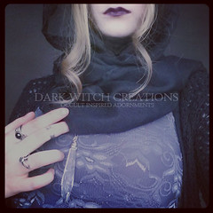 Scrying Pendulum Crystal Necklace (Dark Witch Creations) Tags: glass fashion stone dark point grey shiny magick purple crystal handmade witch lace ooak magic gray violet indigo lavender royal jewelry drop jewellery rings lilac blonde fancy mauve hood hippie amethyst boho pendulum occult quartz witchcraft bohemian gem witchy esoteric lavendar creations blacklips darkarts