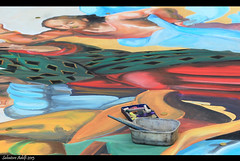 Coloured Chalks (Salvatore Adelfi) Tags: italy streetart italia colours toledo napoli naples colori napoles chalks neapel madonnaro gessetti