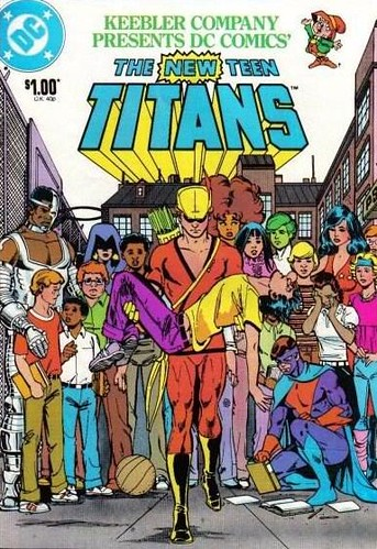 The New Teen Titans Comic Book