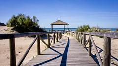 Pasarela playa Chipiona