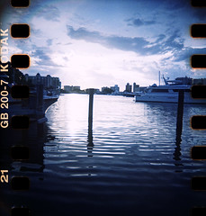 Sarasota (dp&toycams) Tags: film bay florida harbour sarasota nautical toycam blackbirdfly