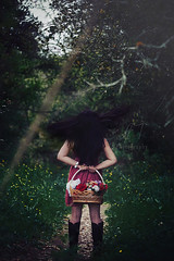 Dark Paradise (Anny To Photography) Tags: california flowers light portrait people nature fashion photoshop hair outdoors photography 50mm model colorful photographer dress fineart style dreamy sonomacounty conceptual santarosa 2013 canon40d atphotography annyto annytophotography