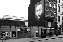 Inside Out XL - Rue Gray (Chanchant) Tags: brussels portrait bw streetart expo noiretblanc bruxelles jr paula ixelles sceptre zumba elsene bouffioux insideoutproject jeepnovack insideoutxl mondialporject zumbaasbl