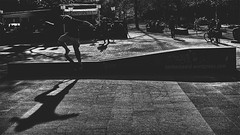 goofy (berberbeard) Tags: street urban blackandwhite germany deutschland photography fotografie skateboarding linden hannover f2 monochrom schwarzweiss 45mm rokkor manuallens minoltamd itsnotatrick berberbeard berberbeardwordpresscom ilce7m2