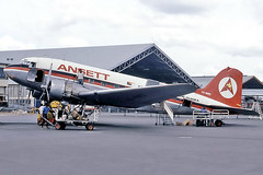 3515 (dannytanner804) Tags: airline airlines of papua and new guinea registrationvhmmdcn33301 airport nadzab morobe airportcodeayla date 1972 aircraft douglas c47b skytrain dc3