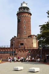 Koobrzeg Lighthouse (Krzysztof D.) Tags: pomorskie pomorze koobrzeg polska poland polen architecture architektura shiftn red brick cega czerwona