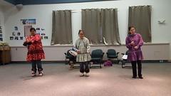 Inupiat dancing