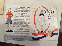 (lexiechan) Tags: peggy mccall mccalls sewing pattern patterns compo composition wartime doll