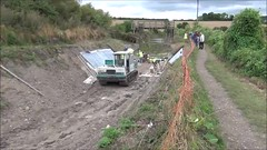 Restoring the Wendover Arm at Miswell (Snapshooter46) Tags: wendoverarm grandjunctioncanal grandunioncanal miswell canalrestoration workingparty civilengineering wendoverarmtrust canalrivertrust
