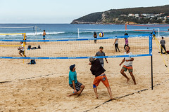 Eyes On The Ball (Robert Casboult) Tags: landscape landscapephotography beach people sport sydney canoneos6d canon70200f4lens outdoors sand sea seaside