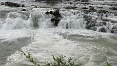 This Snake doesn't hiss or rattle. It roars. (jimsawthat) Tags: river snakeriver urban idahofalls idaho waterfall hydroeletric energy natural manmade