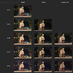 bokeh comparison - trioplan100 / ZF100 / GM85 (E.HOBA) Tags: trioplan meyer meyeroptik trioplan100 100mm28 carlzeisszf100mmf2 carlzeiss sony gm fegm85mmf14 85mm compare lens cameragear cameralens bokeh f14 f2 f28 f4 f56