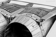 Engineous! (hoobgoobliin) Tags: duxford cambridgeshire imperialwarmuseum bw concorde hoobgoobliin fujifilmxe2 xf56mm fujifilmxf56mm uk jet engine