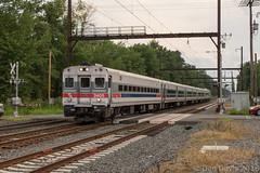 SEPTA Extra 2405 @ Yardley, PA (Dan A. Davis) Tags: septa alp44 pushpull passengertrain railroad locomotive train yardley pa pennsylvania