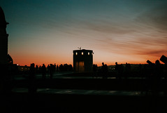 Griffith Observatory (Landon S. Christensen) Tags: leica m m8 rangefinder digital voigtlander nokton classic 35 35mm f14 14 sunset california griffith observatory la los angeles dusk clouds outdoor