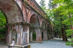 Nanzenji Suirokaku (Hiro_A) Tags: kyoto japan nanzenji suirokaku waterway aqueduct historical old brick red structure landmark nikon d7200 sigma 1770mm 1770