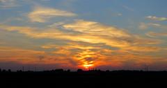 IMG_0017x (gzammarchi) Tags: italia paesaggio natura pianura campagna ravenna villanovadiravenna tramonto sole nuvola