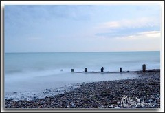 Worthing Beach looking out to sea. (Sb's Photography) Tags: worthing worthingbeach nikond7000 nikon nikon1755f28 slowshutterspeed slowshutter seascape sea beach groynes water