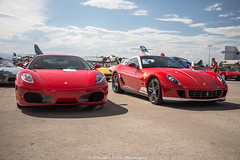 Two of My Favorites (Hunter J. G. Frim Photography) Tags: supercar colorado ferrari italian rosso corsa red 599 gtb hgte 60f1 alonso rare v12 ferrari599 ferrari599alonsoedition ferrari599gtbhgte60f1alonso f430 v8 coupe ferrarif430