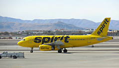 Spirit A319-132 N503NK (kenjet) Tags: lv vegas lasvegas airport ramp nevada klas las airbus spirit nk livery a319 a319100 a310132 mccarran flugzeug airline airliner jet plane aviation aircraft spiritair lasvegasmccarraninternationalairport n503nk yellow bare banana color spiritairlines