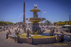Dames de la Fontaine (PrimalOptic) Tags: hittorf fountains fontaines paris concorde place water eau jets 1834 primaloptic max architecture louvre beautiful