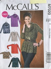 7020 (mrogers1@uw.edu) Tags: sewingpatterncollection top tunic blouse 2010s cut mccalls
