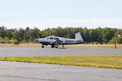 Private Mooney M-20J N201YF (jbp274) Tags: bst kbst airport airplanes mooney m20