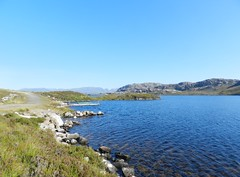 Loch Tollie, near Kinlochewe, Wester Ross (allanmaciver) Tags: loch tollie blue water trout fishing highlands allanmaciver