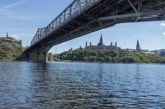 DSC_0925a (PaulPagPhotos) Tags: ottawa capital parliaent parliamenthill ottawariver boating bridges alexandriabridge interprovincialbridge
