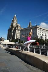 DSC06309 (liverpix) Tags: cleo dog performing anthonywalsh photowalk 500px liverpool pierhead liverbuilding ballerina ballet