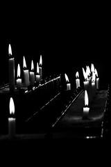Candle light (David Feuerhelm) Tags: light candle flame nikkor contrast serene gloucester minimalist bw nikon d7100