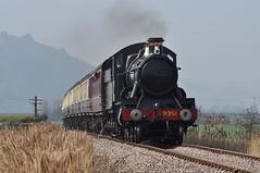 20110324    9351 (paulbrankin775) Tags: west somerset railway mogul 9351 ker moor minehead bishops lydeard train steam 260