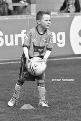 Scunthorpe United mascot v Sheffield United 2016 (SteveH1972) Tags: scunthorpeunited mascot mascots canon700d northlincolnshire canon70200 football soccer match iron united outside outdoor outdoors 2016 kid kids child children uk europe northernengland