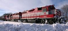 Three Geese (Wide Cab) Tags: railroad train freight wsor wisconsinsouthern l595 oshkoshsub oshkoishwi