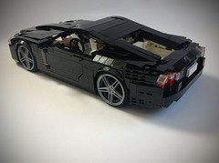 Jaguar XKR-S (Luke-M) Tags: black car lego jaguar xkrs