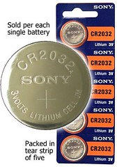 ... but a CR 2032 coin battery does! (Batteries and Butter | Watch Battery) Tags: b d c ti batteries aaa cr graphing 2032 1616 a caluculator